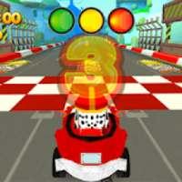 Speed Paw Car Patrol Battle Race