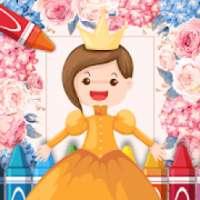 Princess Colouring Games
