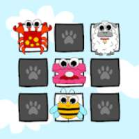 Memory - Animals Card Matching Puzzle Game Free
